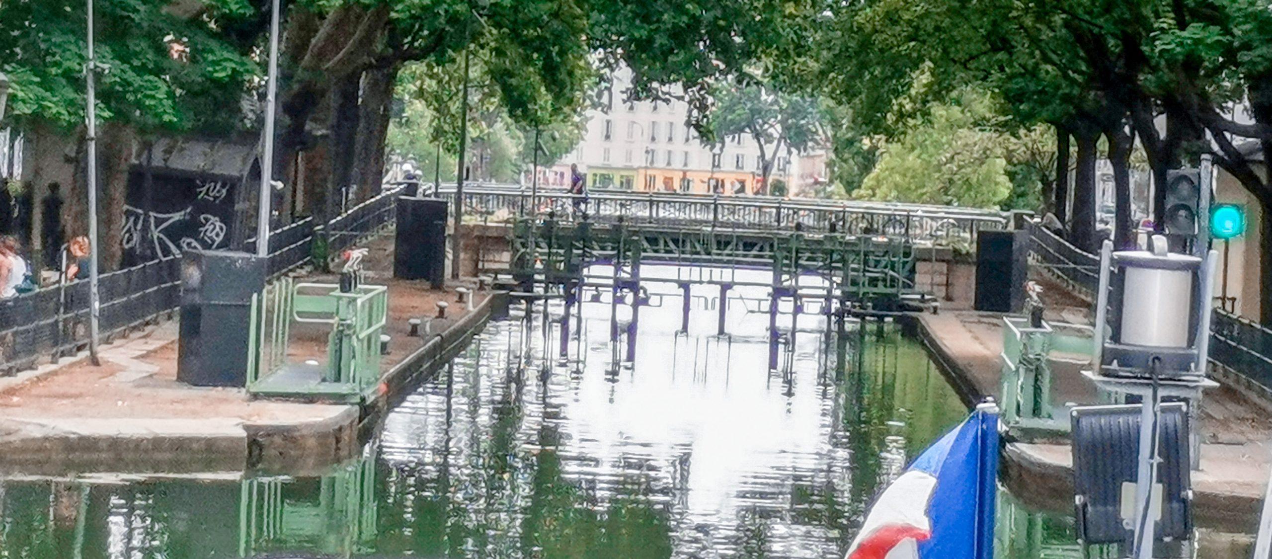 Kanátl Saint Martin v PARÍŽI