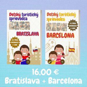Detskí sprievodcovia – Bratislava + Barcelona
