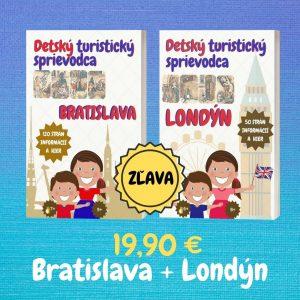 Detskí sprievodcovia – Bratislava + Londýn